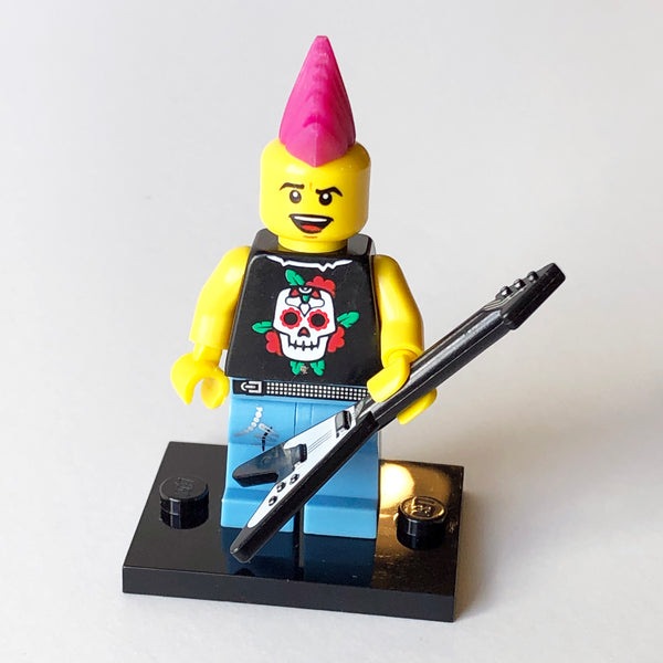 Punk Rocker - Series 4 Minifigure (BAM0944)