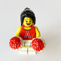 Red Cheerleader - Series 8 Collectibles (BAM1017)