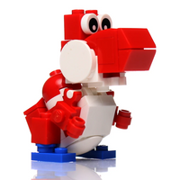 Friendly Red Dino