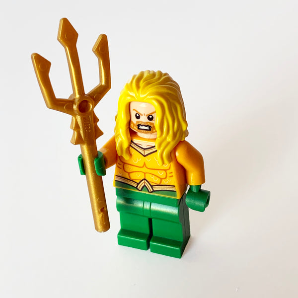 Aquaman - Yellow Long Hair (BAM0496)