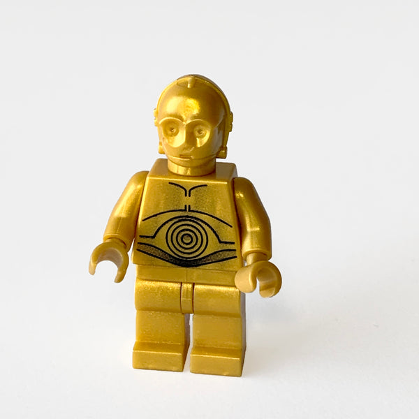 C-3PO - Pearl Gold - Pearl Light Gold Hands (BAM0138)