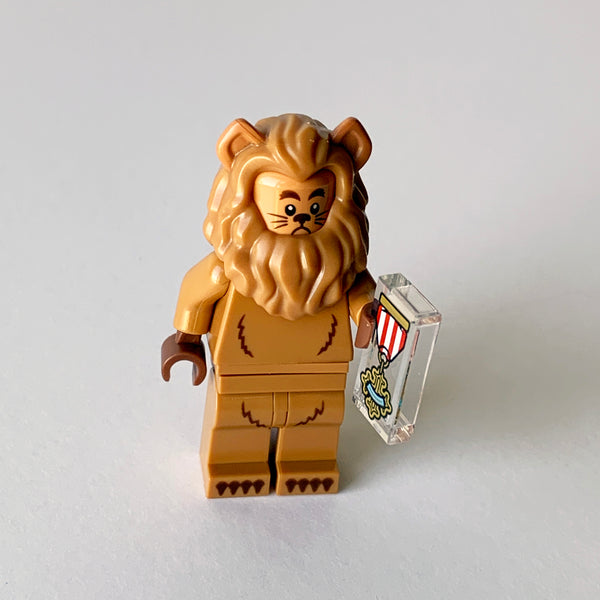 Cowardly Lion - The Lego Movie 2 Collectibles (BAM0791)