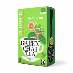 Green tea chai 20 bags Marca Clipper