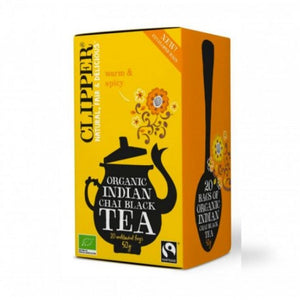 Clipper Black tea Indian Chai 40grs