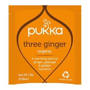 Pukka Three Ginger  20 Bolsitas