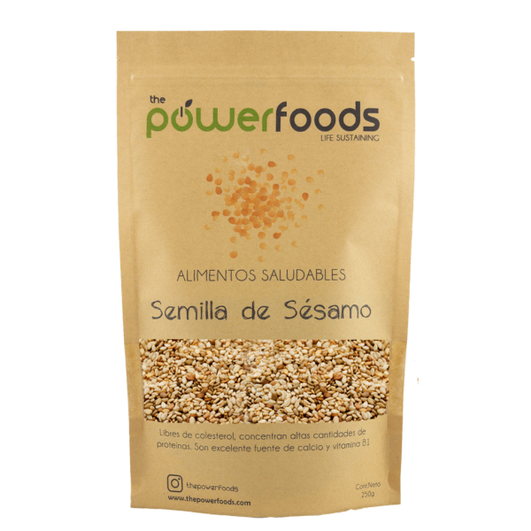 The PowerFoods Sesamo Tostado 500 gr