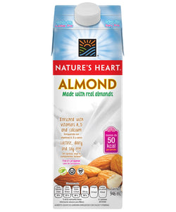 Nature's Heart Leche de almendras 946ml