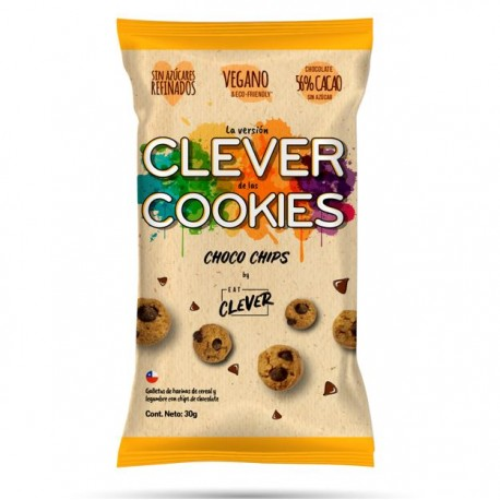 Clever Cookies Choco chips 80grs