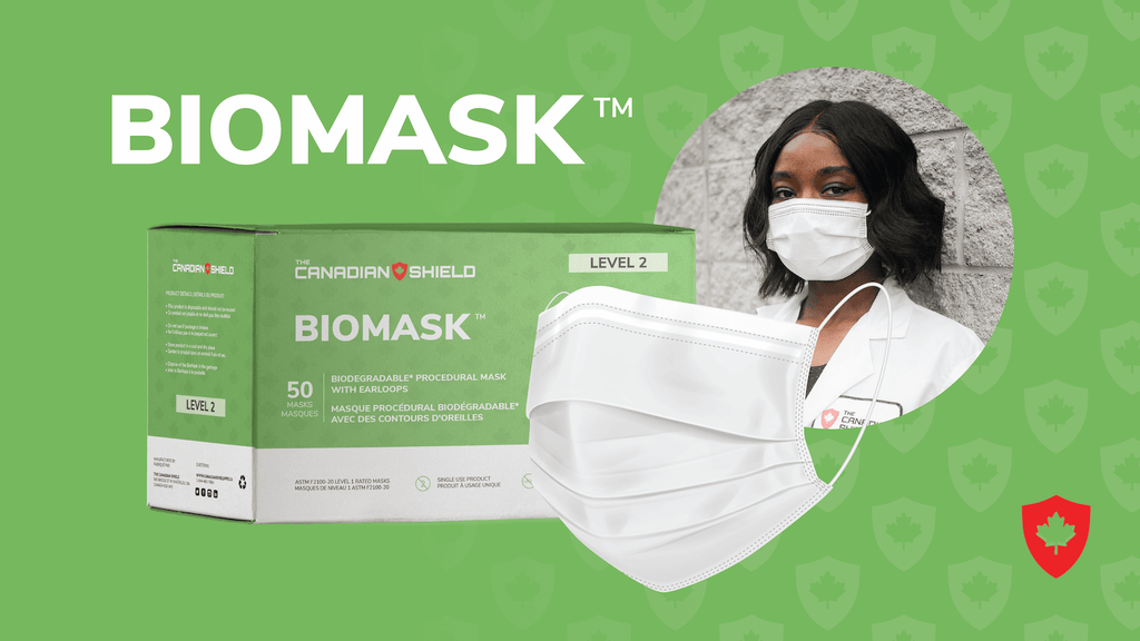 The Canadian Shield BioMask Procedural Face Mask