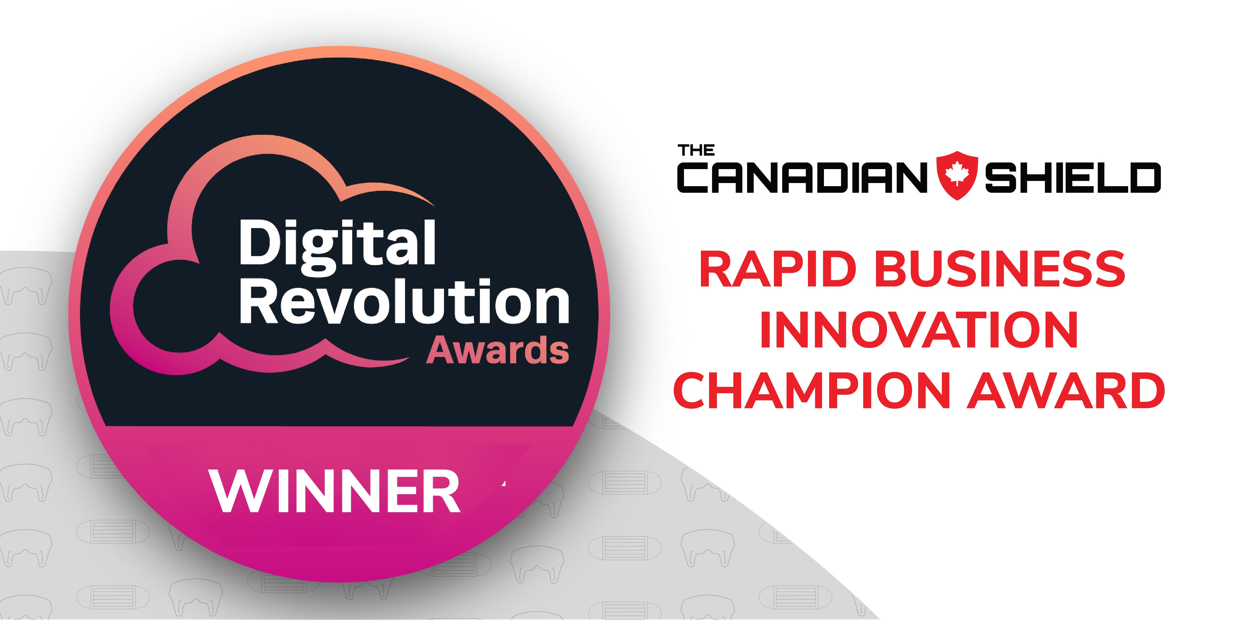 the canadian shield rapid business innovation champion award