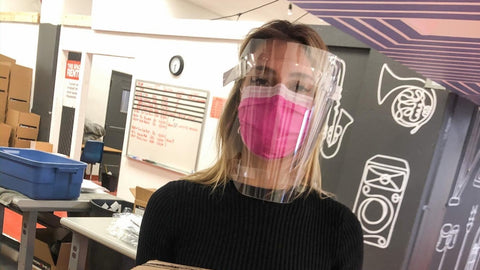 ppe face shields for government