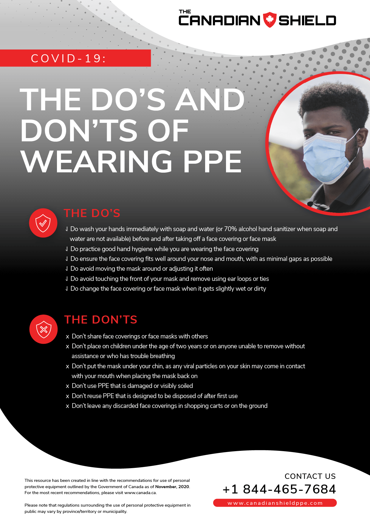 The do's and dont's of wearing ppe