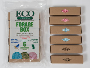 "Eco-Forage Box 6 pieces 1""x1""x4"" - CASE OF 48   SAVE 20%!"