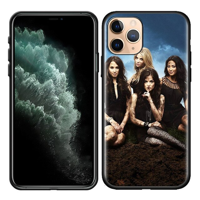 Case Cover for iPhone 11 11Pro 11ProMAX XR X XS MAX 8 7 6S 6 Plus 8+ 7+ Phone Silicone Back Shell Pretty Little Liars PLL TV Sho