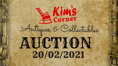 Antique Auction Coming Soon!