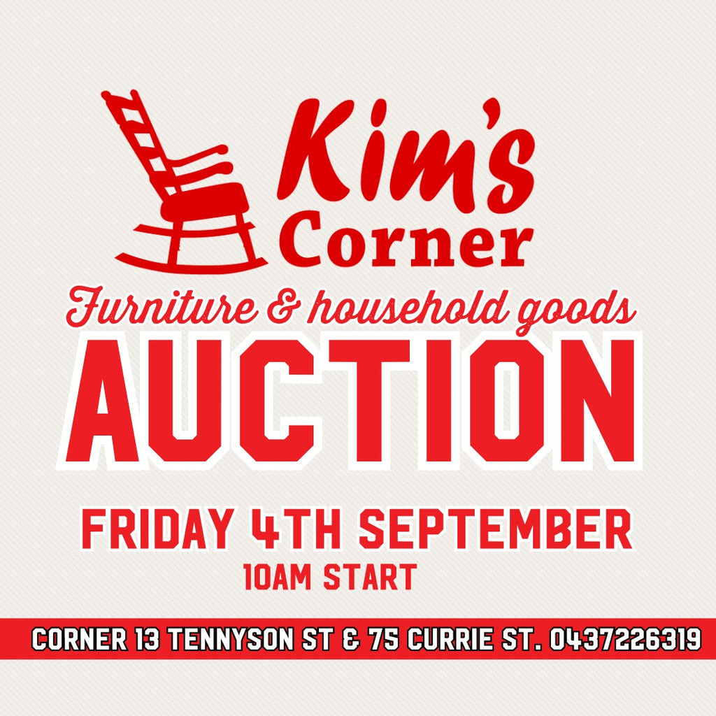 Next General Auction Fri 4th Sep