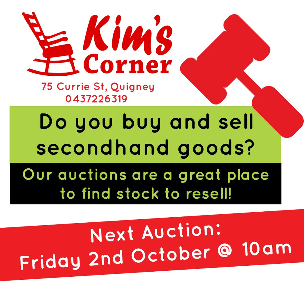 Kim's Corner Auctions Welcomes Dealers