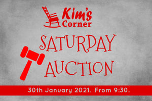 SATURDAY Auction!