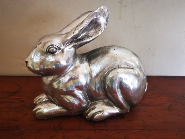 Silver Bunny ornaments