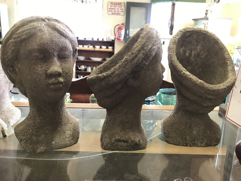 Lady Head Potplant Holders