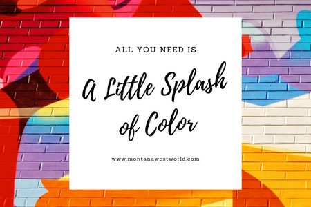 All You Need is a Little Splash of Color