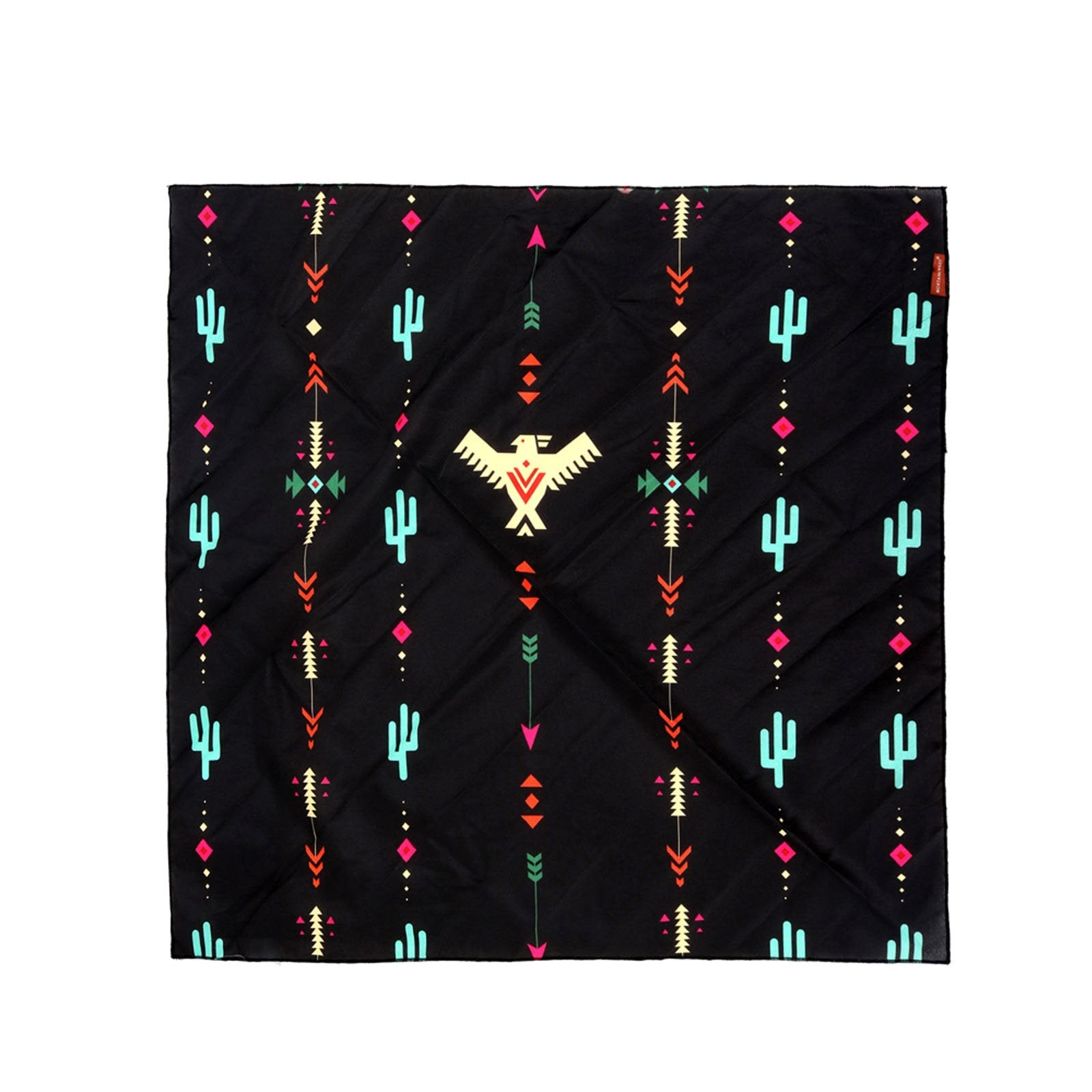BDN03  American Bling Arrow Thunderbird Pattern Print Bandana- Assorted Colors (12 PCS)