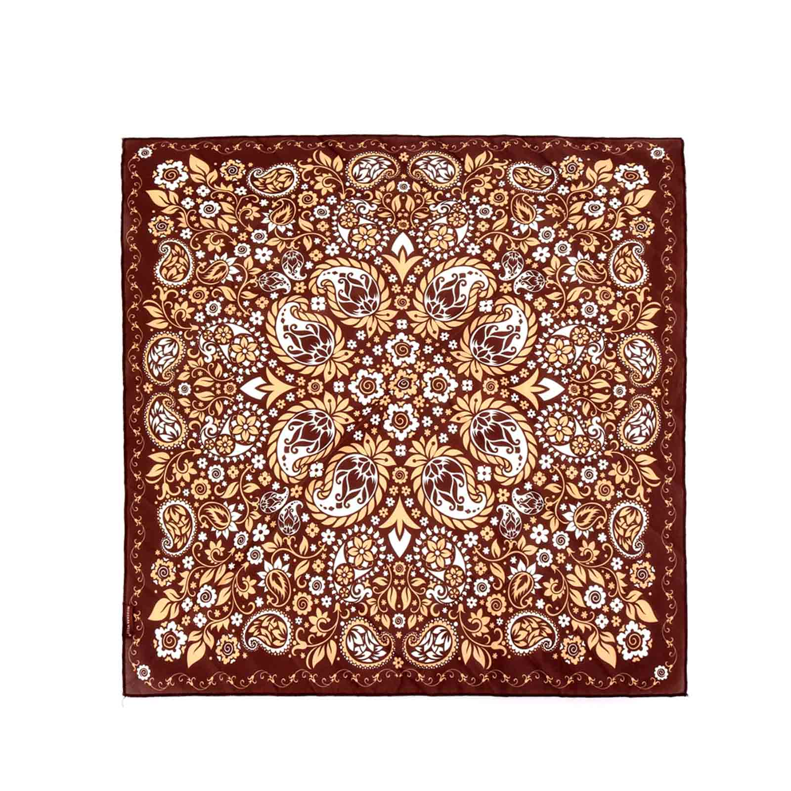 BDN08  American Bling Paisley Mandala Print Bandana - Assorted Colors (12 PCS)