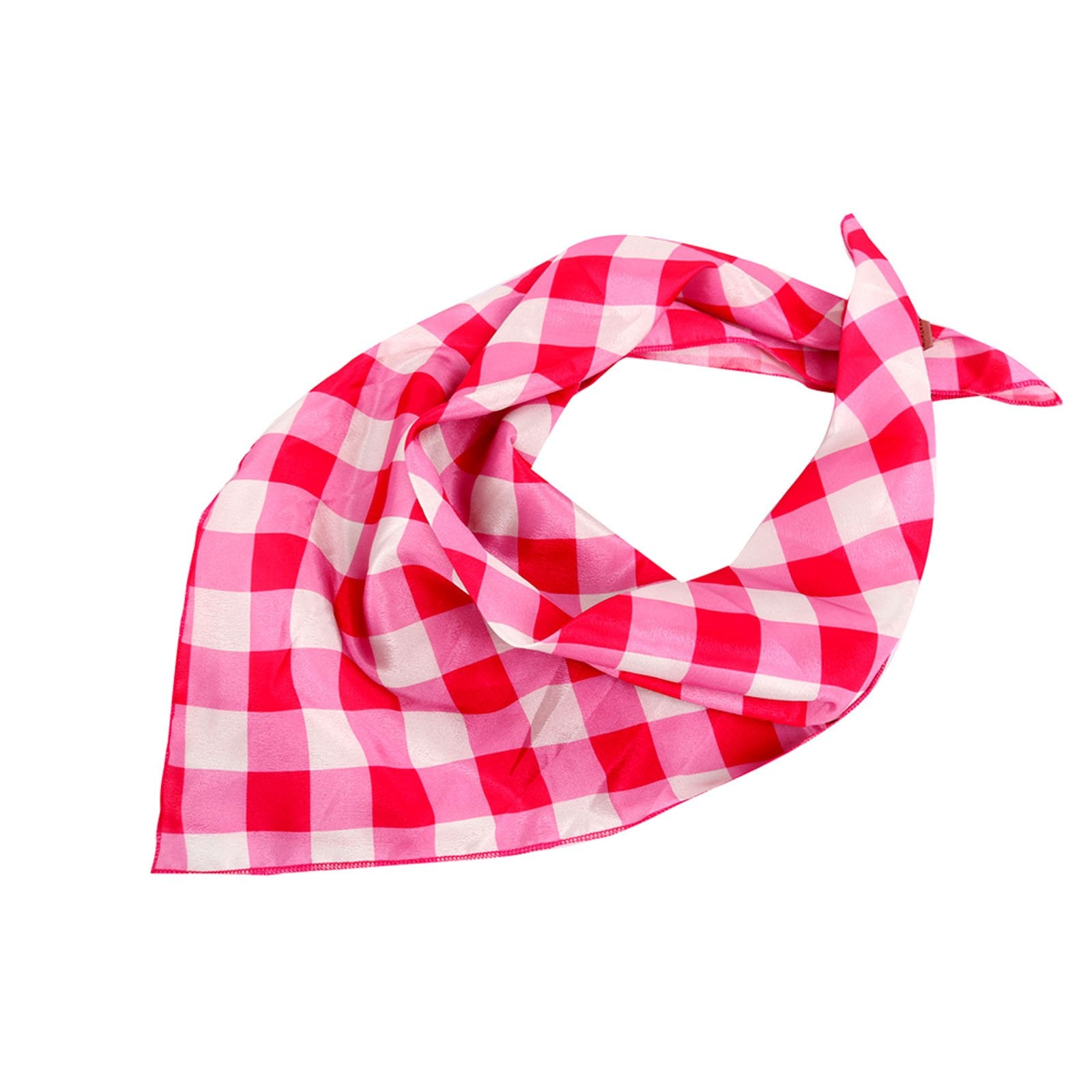BDN11  American Bling Checkered Bandana - Assorted Colors (12 PCS)