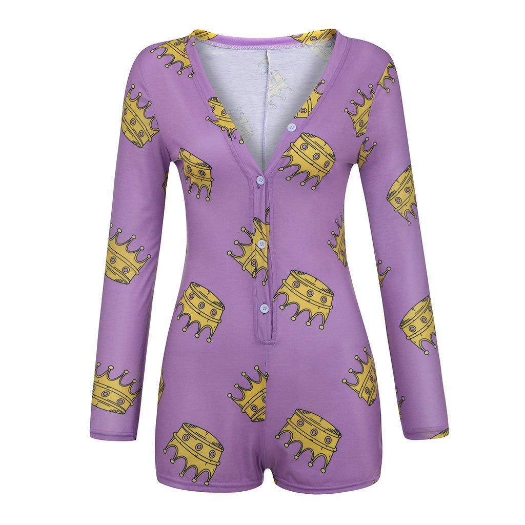 Cheeky Onesie Pajamas - Queen - Vixen Boxx
