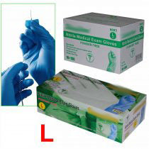 Load image into Gallery viewer, **IN-STOCK**  - 1 Case of Nitrile Exam Medical Disposable Gloves (10 box) - S/M/L/XL