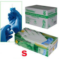 **IN-STOCK**  - 1 Case of Nitrile Exam Medical Disposable Gloves (10 box) - S/M/L/XL