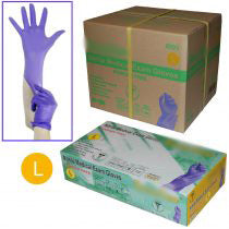 **IN-STOCK**  - 1 Case of Nitrile 510k Disposable Gloves (10 box) - S/M/L/XL