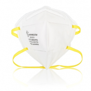N95 NIOSH Disposable Particulate Respirator - 20 Count / Bag-Box