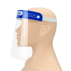 Face Shield PET Plastic - Reusable - individual (5 pack)