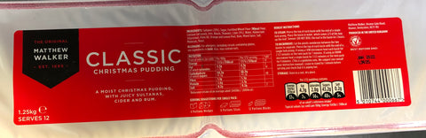 Matthew Walker Christmas pudding x 1.25kg