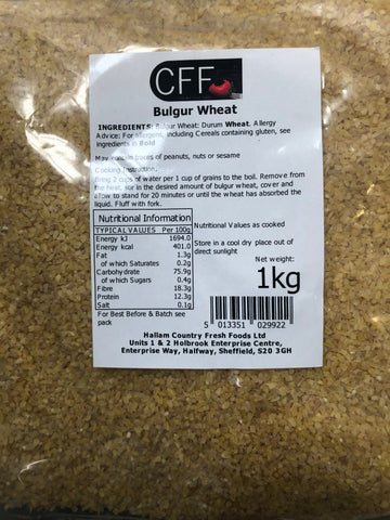 Bulgur Wheat 1KG
