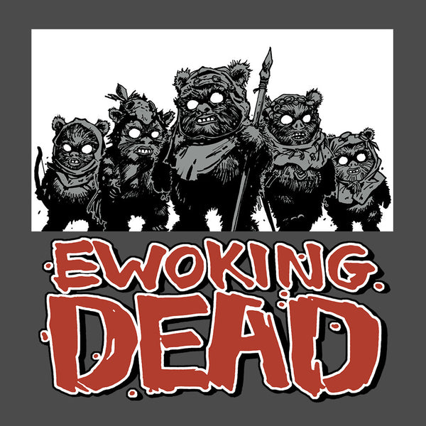 Ewoking Dead Zip Hoodie - GraphicLab Tees