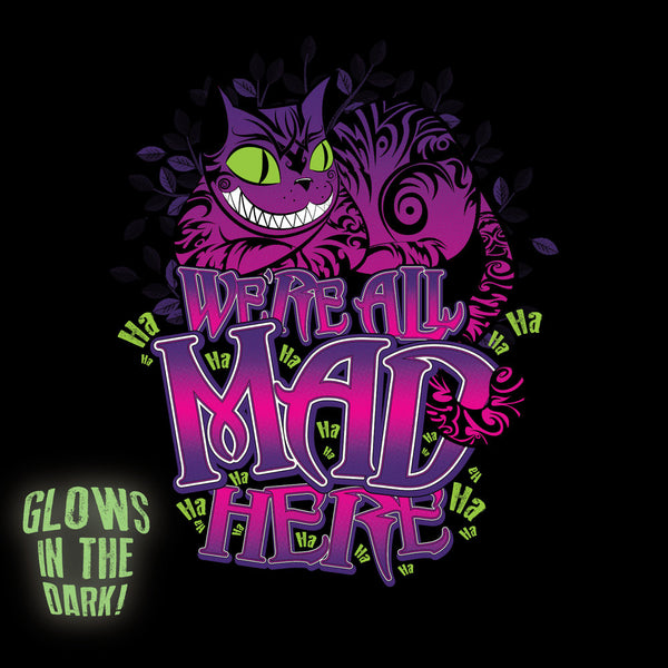 We're All Mad Here Ladies Tank - GraphicLab Tees