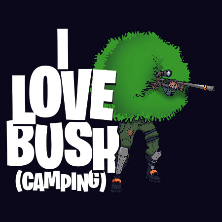 I Love Bush (Camping) Ladies Tank - GraphicLab Tees