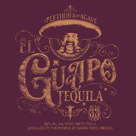 El Guapo Tequila t-shirt - GraphicLab Tees