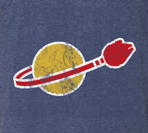 Spaceship! t-shirt - GraphicLab Tees