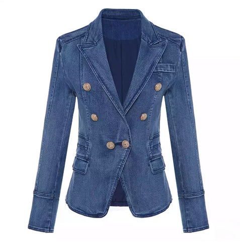 You Fancy Denim Blazer