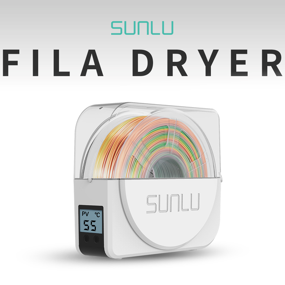 SUNLU FilaDryer S1 - The Most Cost-effective 3D Filament Dryer Box. Fit most of 3d filament