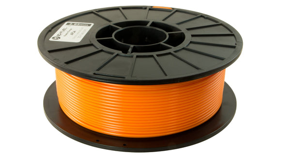 3D-Fuel 2.85mm tangerine Orange APLA spool horizontal
