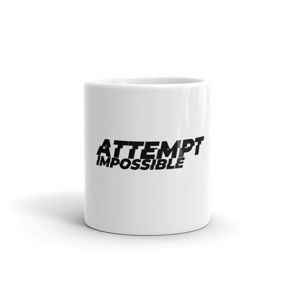 Attempt Impossible Limited Edition Ceramic Mug