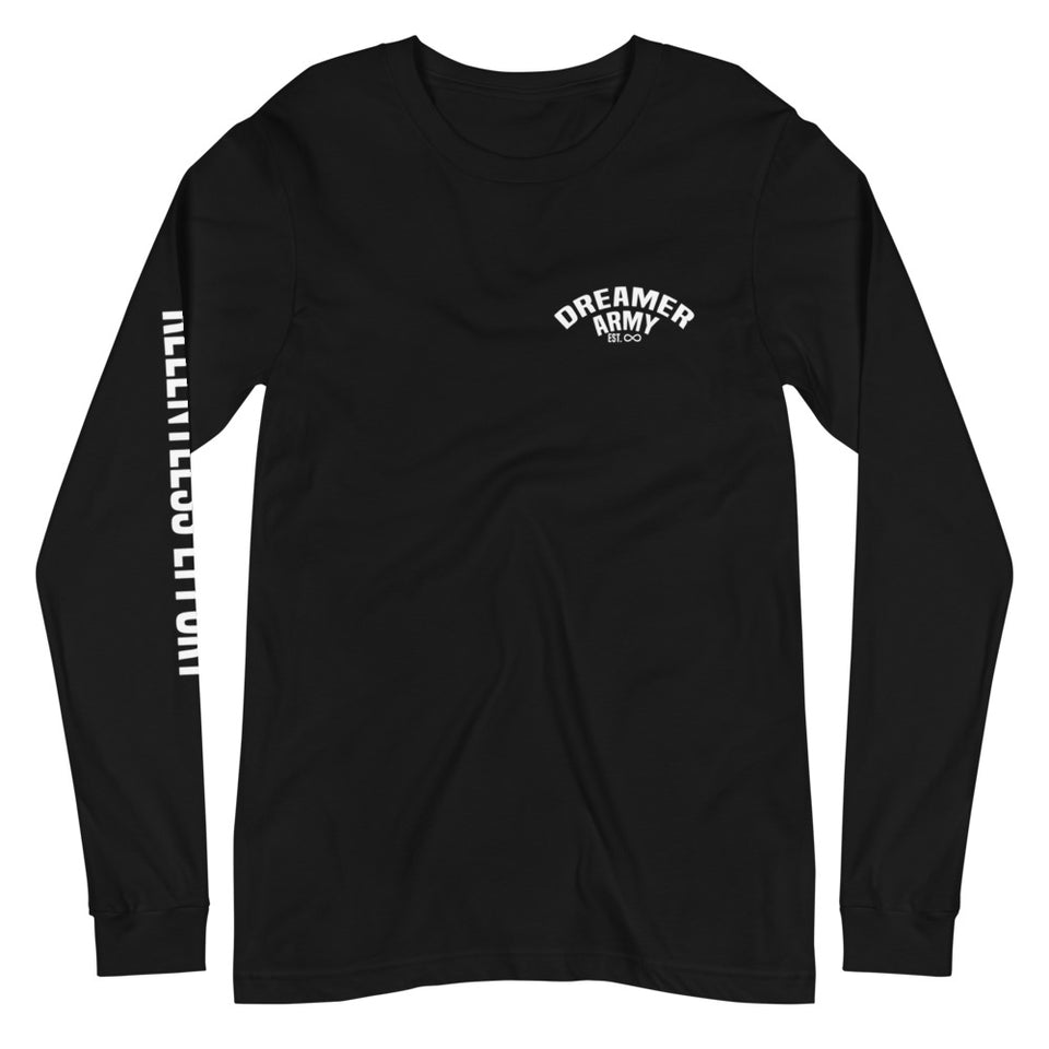 Relentless Effort Dreamer Army Long Sleeve