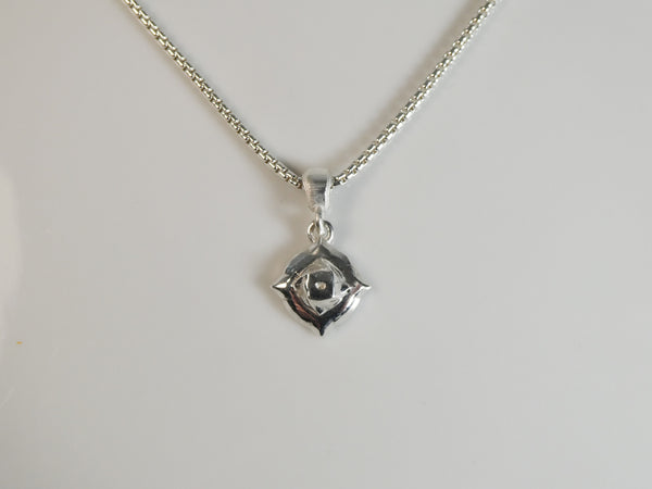 Hydrocarbon Necklace in 935 Argentium Silver
