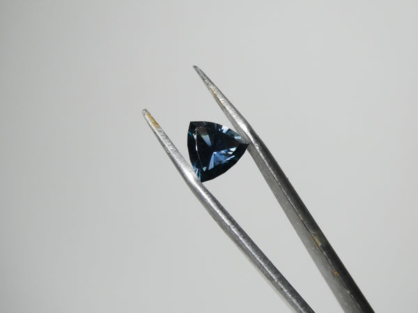 Trillion Cut Color Change Blue Sapphire