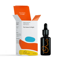 Load image into Gallery viewer, The Future Is Bright. Brightening Facial Treatment Oil With Vitamin C 30ml
