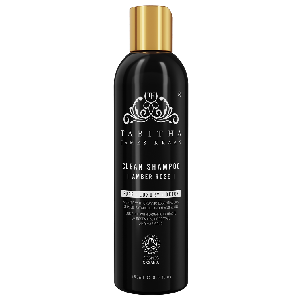 Clean Shampoo Amber Rose 250ml